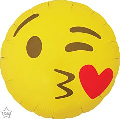 "18"" Emoticon Kissing Heart"