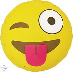 "18"" Emoticon Winking"