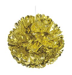 "16"" Foil Puff Ball - Gold"