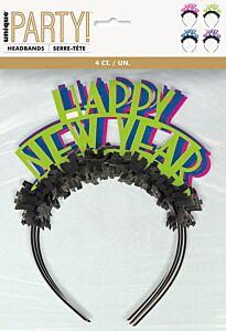 Neon Dots New Year Headband