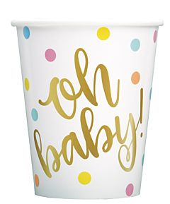 Oh Baby - 9 oz Cup 8Ct