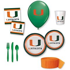 University of Miami - Party Pack