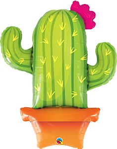 """39"""" Potted Cactus"""
