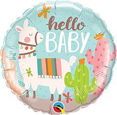 "18"" Hello Baby Llama"