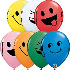 """11"""" Smiley Faces Latex Assortment"""