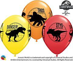 "11"" Jurassic World Latex"