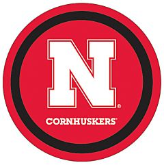 "Nebraska - 7"" Paper Plate 12Ct"