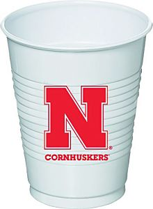Nebraska - 16 oz Cup 8Ct
