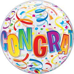 "22"" Congrats Around Bubble"