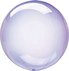 "10"" Crystal Clearz Petite - Purple"