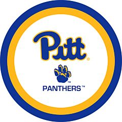 "University of Pittsburgh - 7"" Paper Plate 12Ct"