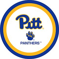 "University of Pittsburgh - 9"" Paper Plate 10Ct"