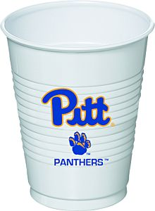 University of Pittsburgh - 16 oz Plastic Cup 8Ct