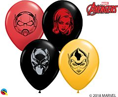 "5"" Marvel Character Faces Latex"
