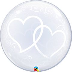 """24"""" Entwined Hearts Bubble"""