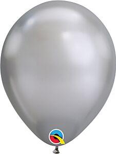 """7"""" Qualatex Chrome Silver Latex"""