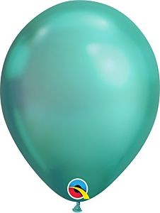 "7"" Qualatex Chrome Green Latex"