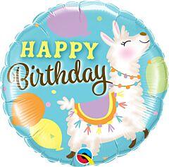 """18"""" Birthday Llama"""