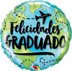 "18"" Felicidades Grad World"