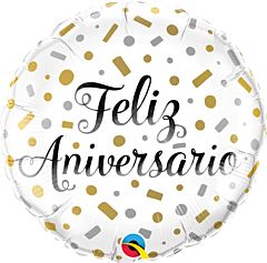 "18"" Feliz Aniversario"