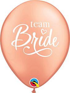 """11"""" Team Bride Latex"""
