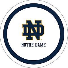 "U Of Notre Dame - 7"" Paper Plate 12Ct"