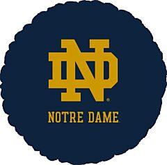 """18"""" U Of Notre Dame Foil"""