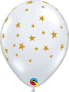 """11"""" Contempo Star Latex - Clear"""