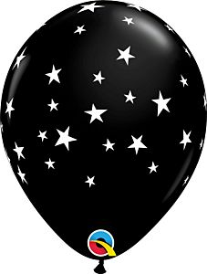 """11"""" Contempo Star Latex - Black"""