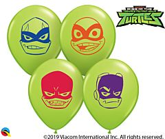 "5"" Rise Of The TMNT Faces Latex"