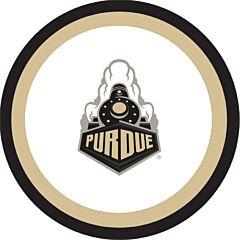 "Purdue Univ - 7"" Plate 12Ct"