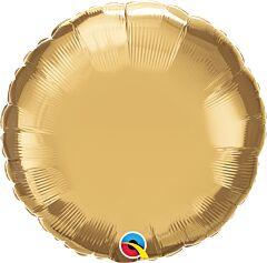 "18"" Chrome Gold Round"