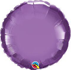 "18"" Chrome Purple Round"
