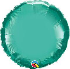 "18"" Chrome Green Round"