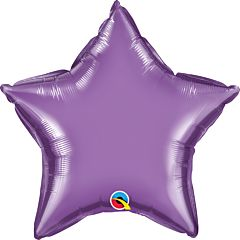 "20"" Chrome Purple Star"