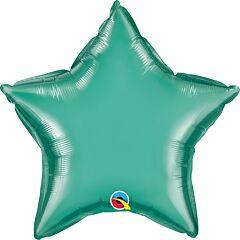 "20"" Chrome Green Star"