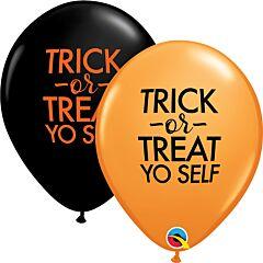 "11"" Trick Or Treat Yo Self Latex"