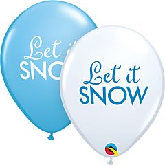 "11"" Let It Snow Latex"