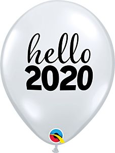 "11"" Hello 2020 Latex"