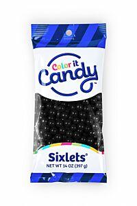 14 oz Sixlets - Black
