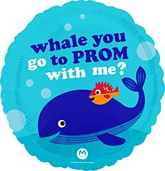 """18"""" Whale You Go to Prom"""
