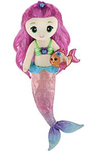 "18"" Pearl Mermaid Plush"