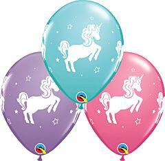 """11"""" Whimsical Unicorn Latex"""
