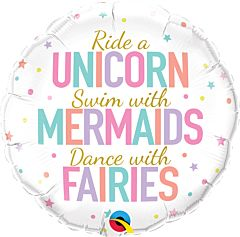 "18"" Unicorn/Mermaids/Fairies"