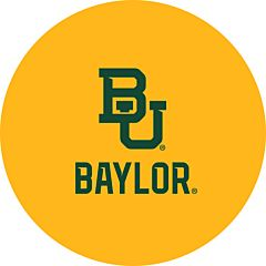"Baylor University- 7"" Paper Plate 12Ct"