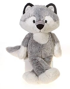 """16"""" Fuzzy Wolf Plush"""
