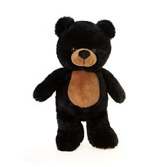 "11"" Black Bear Plush"