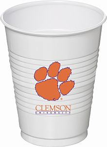 Clemson Univ - 16oz Cup 8Ct