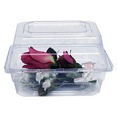 """4"""" x 3"""" x 3"""" Boutonniere Plastic Box"""