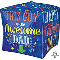 """15"""" Awesome Dad Cubez"""